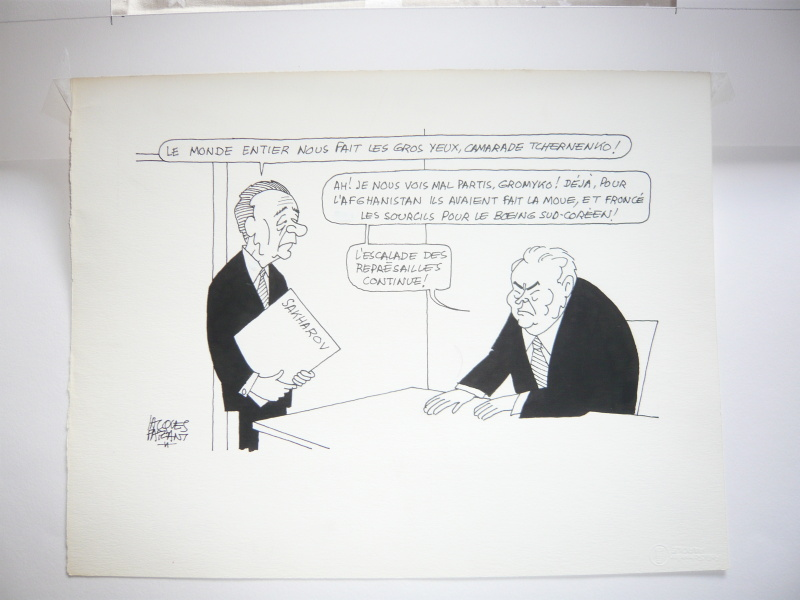 For sale - Sakharov by Jacques Faizant - Comic Strip