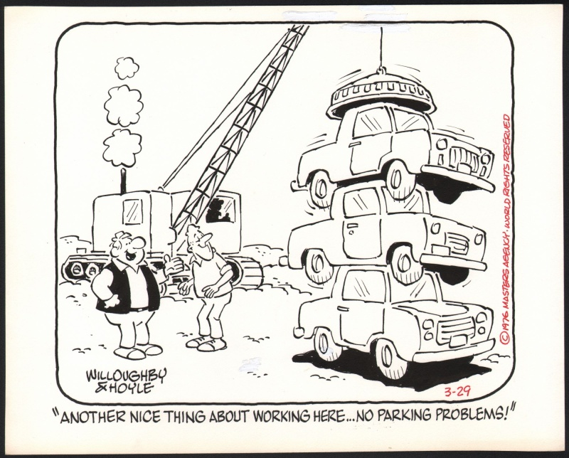 Parking by Jim Willoughby, Frank Ridgeway - Comic Strip