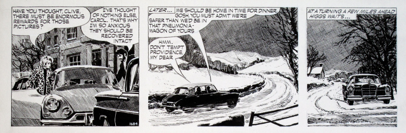 Carol Day • The Changeling #1684 • Citroën DS by David Wright - Comic Strip
