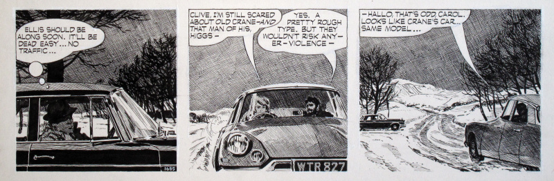Carol Day • The Changeling #1685 • Citroën DS by David Wright - Comic Strip