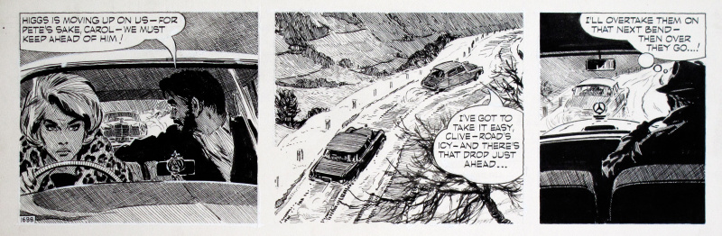 Carol Day • The Changeling #1688 • Citroën DS by David Wright - Comic Strip