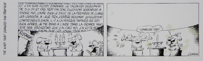 For sale - L'Insoutenable légèreté du slip – Strip n°7 – Simon Léturgie by Simon Léturgie - Comic Strip