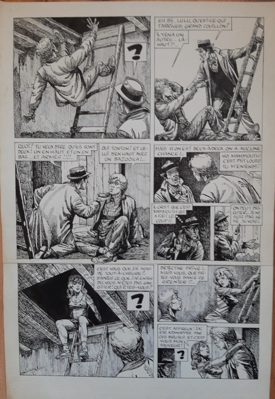 For sale - Félix Marlot et Lulu Berlu by Peter Glay - Comic Strip