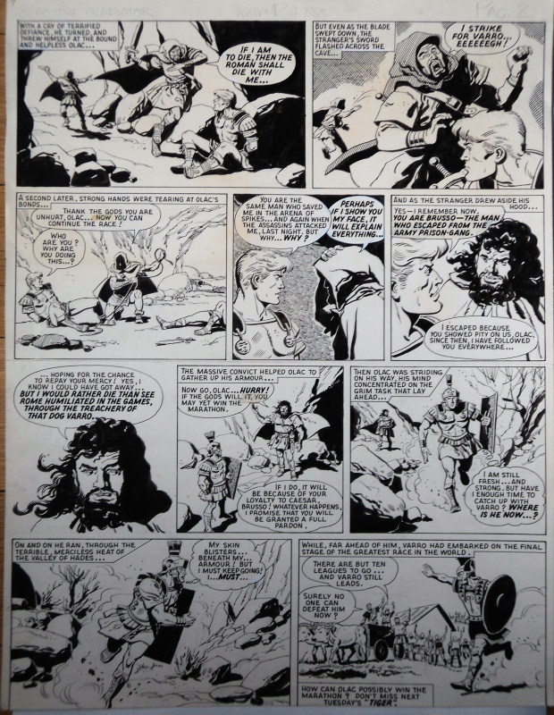 Olac the gladiator pl 2 by Gerry Embleton - Comic Strip
