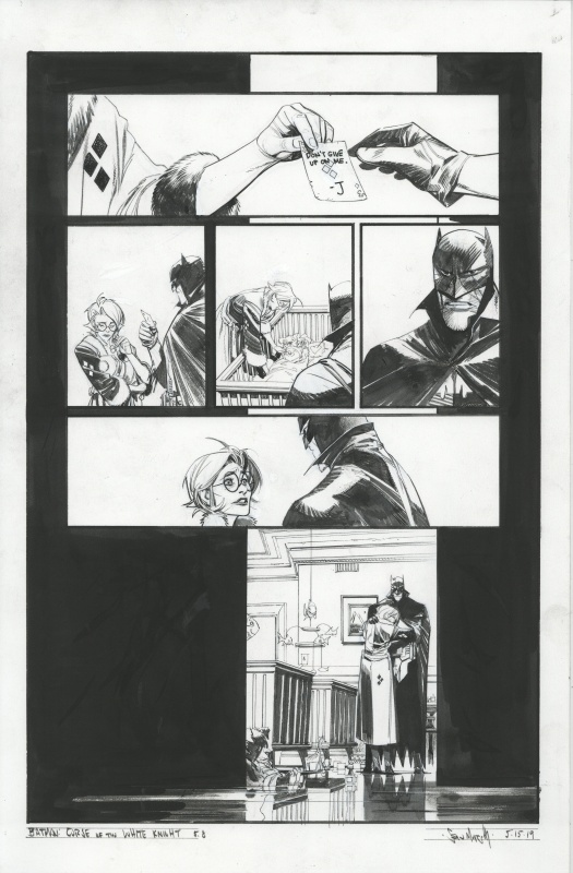 Batman: Curse of the white knight by Sean Gordon Murphy - Comic Strip