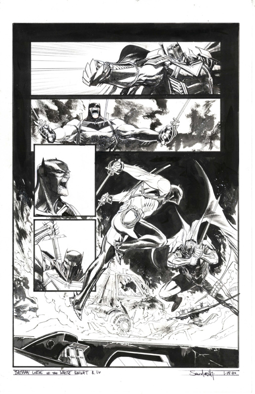 Sean Gordon Murphy - Batman, Curse of the White Knight, issue 8 page 16 by Sean Gordon Murphy - Comic Strip