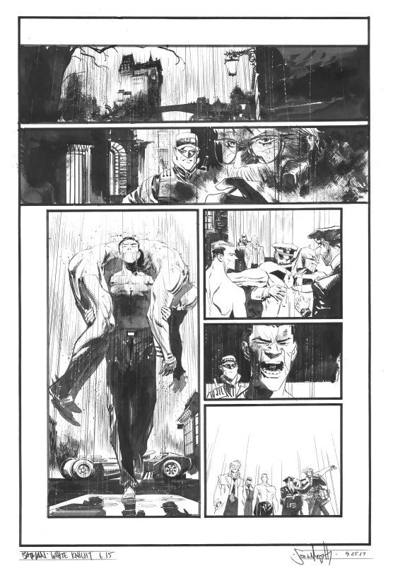 Batman - White Knight #6 P15 by Sean Gordon Murphy - Comic Strip