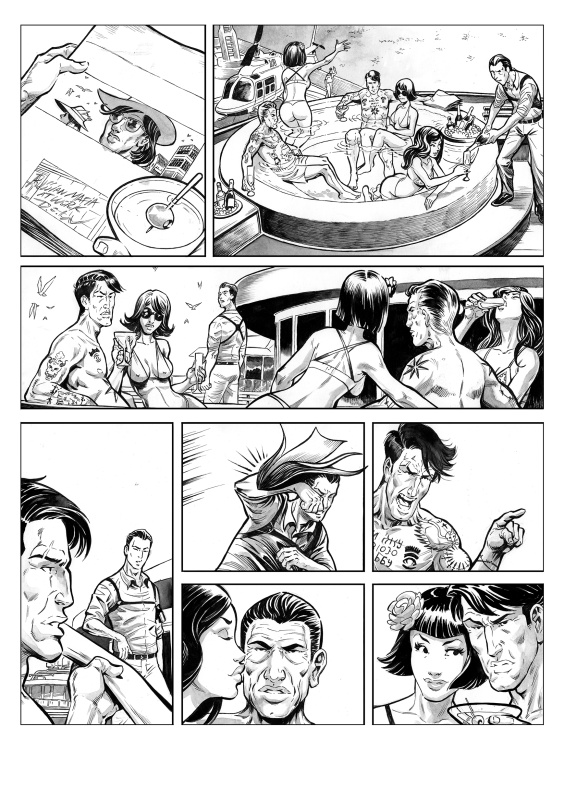 For sale - D.o.w. P.47 T1 by Gabor - Comic Strip