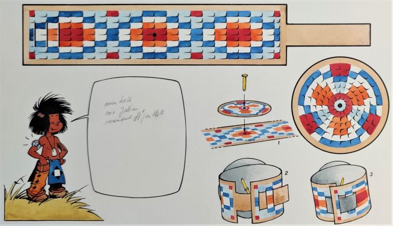 En vente - Yakari BRACELET par Derib - Planche originale