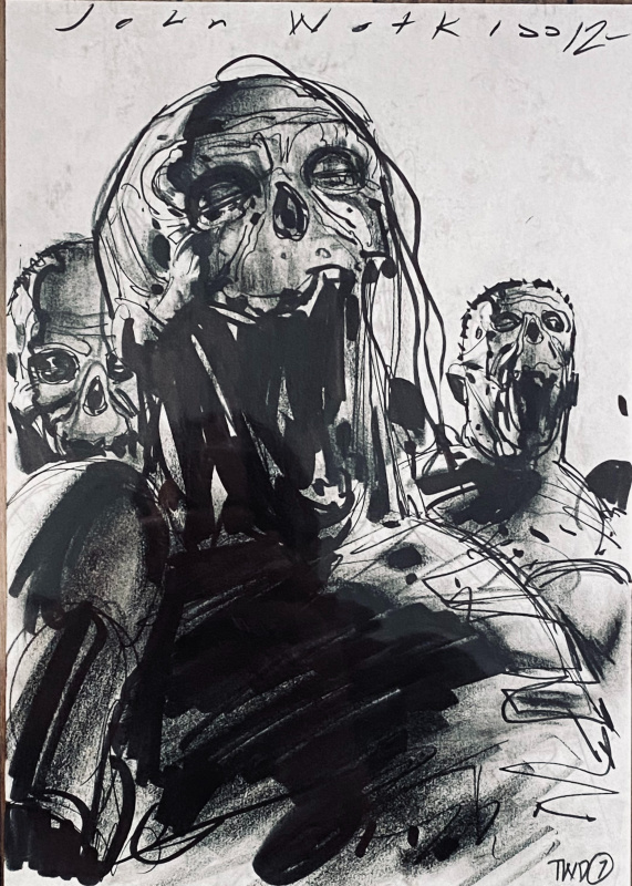 Walking Dead by John Watkiss - Comic Strip